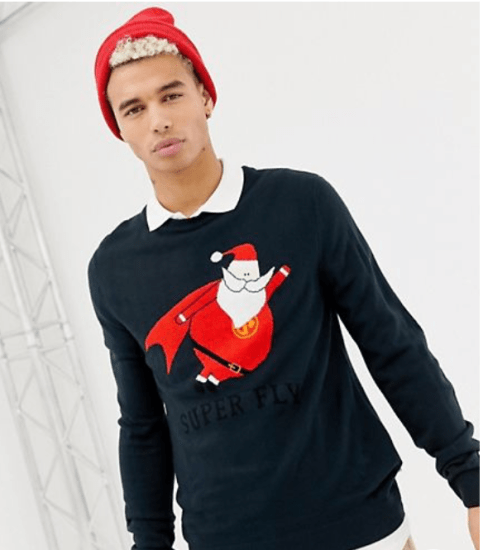 santa fly jumper
