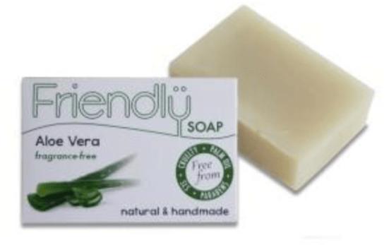 Friendly soap co aloe vera soap