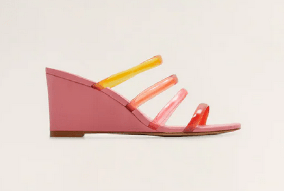 MAngo multi-colored sandals