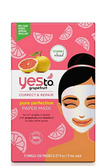 yes to grapefruit pore perfection mask