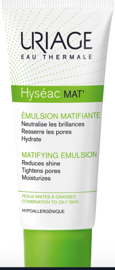uriage hyseac moisturising and pore refining emulsion