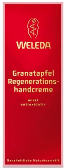 weleda vegan pomegranate hand cream
