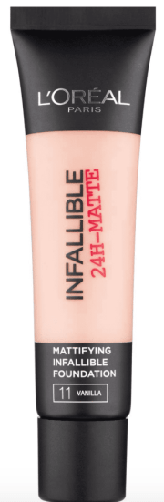 L'oreal infallible 24g matte foundation