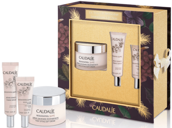 Caudalie immediate lift vegan gift set