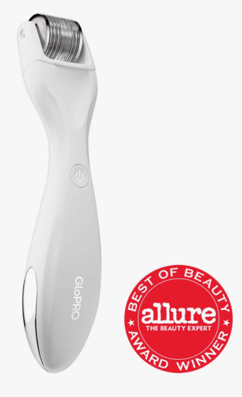 Beauty gadget GloPRO Rejuvenating dermaroller tool