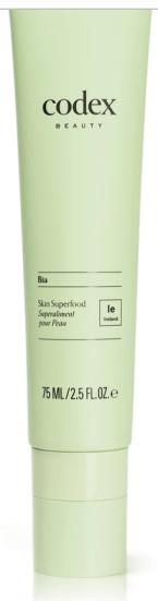 new beauty 2020 codex skin superfood