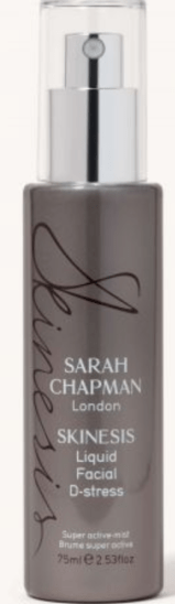 2020 ultimate products, sarah chapman skinesis d-stress mist