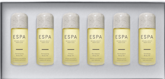 the best vegan beauty gifts in the world - espa luxurious body oils