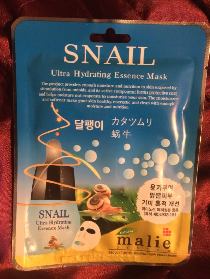 amazing sheet masks that cost less than coffee - snail