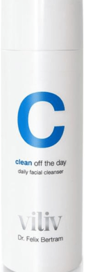 dr felix clean off day cleanser, beauty editor evening skincare routine for dryness