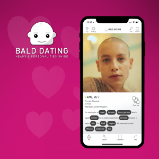 the newly launched bald dating app taking the work b storm