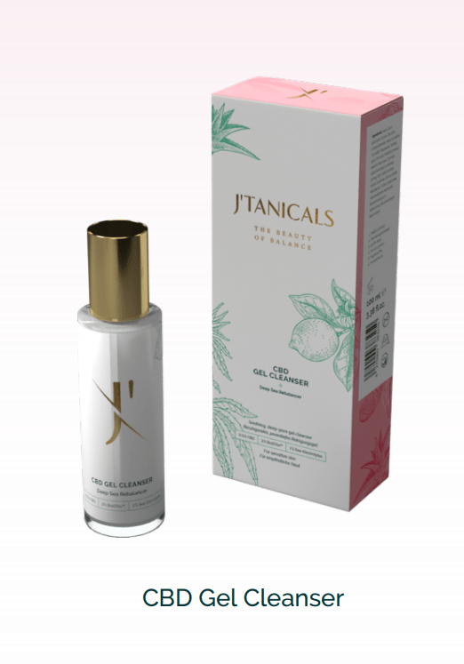 J'Tanicals CBD GEL CLEANSER will be your new best friend