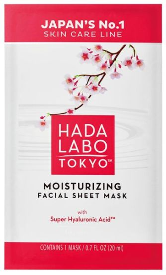 Hada Labo Tokyo Facial Sheet Mask is the best pre-date skincare prep around and now in uk