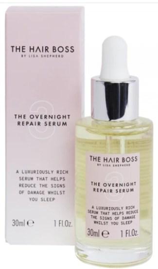 hair boss serum overnight