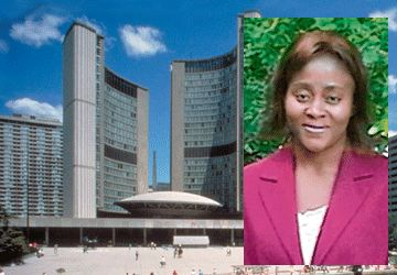 Clarisse Ngana, présidente du comité français de la Ville de Toronto.