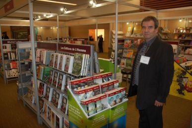 Valéry Vlad, le président du Salon du livre de Toronto.