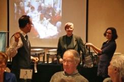 Centres d'Accueil Héritage 20 Jean-François Champagne, Suzanne Alberga présidente du Club Richelieu Trillium, Annette Durbeuil l.jpeg