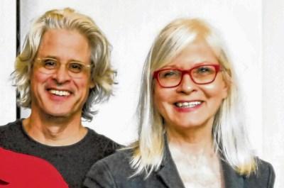 La Tangente: Claude Guilmain et Louise Naubert.