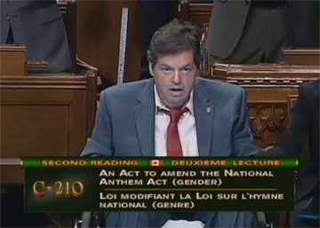 Le député Mauril Bélanger l'an dernier.
