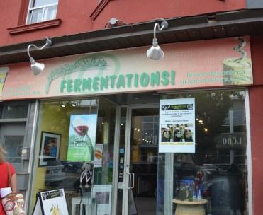 Fermentations, abenue Danforth.