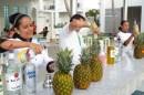 Mixologie tropicale au Riu Palace Aruba. (Photo: Benoit Legault)