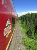 À bord de l'Agawa Canyon Tour Train.