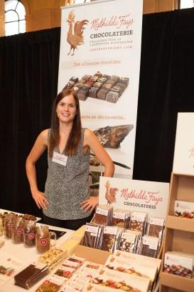 Les chocolats de Mathilde Fays. (Photo: Sébastien Auger)