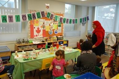 Le Coin de la petite enfance du Centre francophone de Toronto au 20 Lower Spadina.