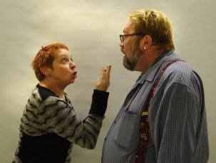 Line Boily (la belle-mère) et Pierre McLaughlin (le père).