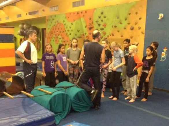Journée sportive à l'École du Cirque pour les élèves de la TFS.