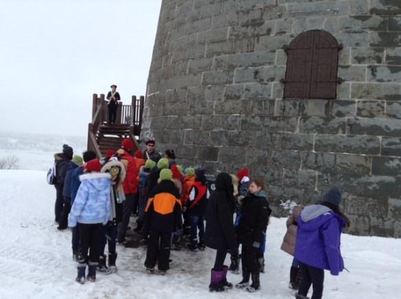 Visite de la Tour Mortella.