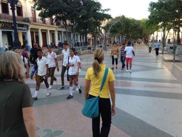 La promenade Prado.