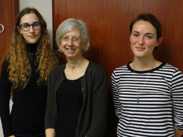 Anne-Sophie Roussel, Monica Heller et Tessa Bonduelle