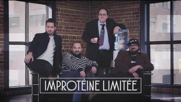 Vincent Poirier, Stéphane Guertin, Martin Laporte et Olivier Nadon.