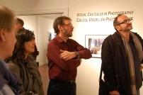 Le photographe Guy Lafontaine, qui est aussi commissaire de l'exposition à la galerie Dylan Ellis.