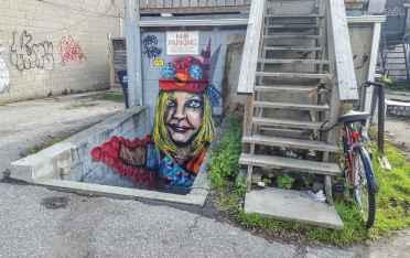 Toronto Street Art Strolls Nathalie Prezeau