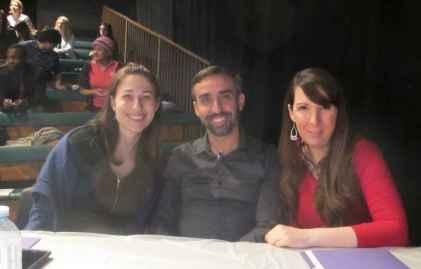 Mylène Thériault, Dino Gonçalves, Lina Blais