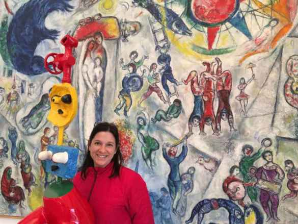 Aurélie Resch à la Fondation Maeght.