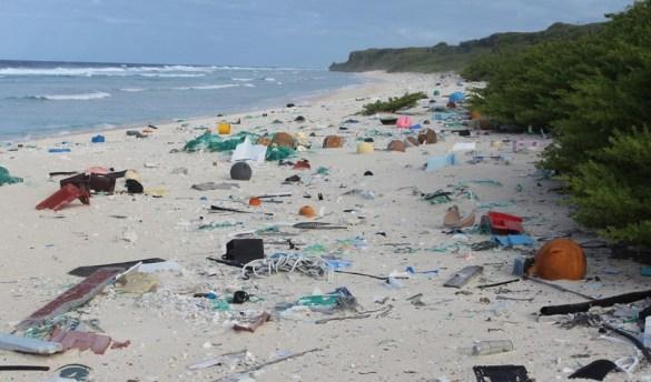 L'Île Henderson fait partie du Patrimoine mondial de l'Humanité. (Photo: The Atlantic - Jennifer Lavers - http://theatln.tc/2r0BWmv)