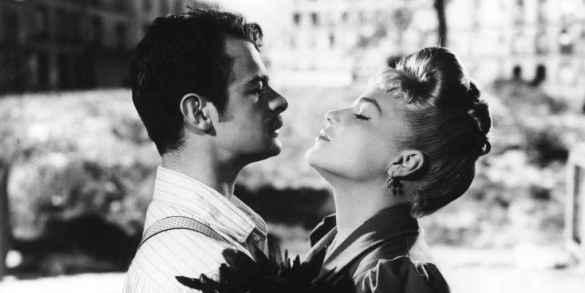 Serge Reggiani et Simone Signoret dans Casque d'or, de Jacques Becker.