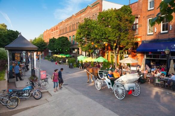Adrien Buote aime Charlottetown, en particulier ses restaurants. (Photo: Tourisme Île-du-Prince-Édouard)