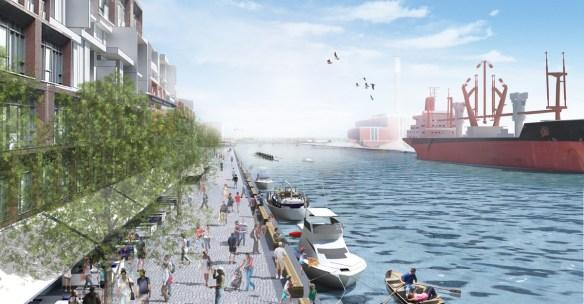 SvN prévoit un projet de mobilité sur les quais de Toronto.