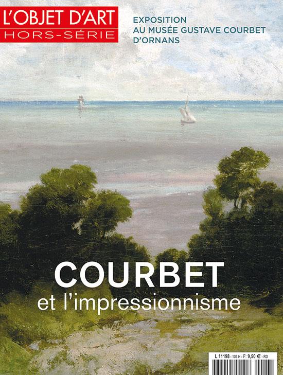 Courbet et l'impressionnisme, L'Objet d' Art hors-série, éditions Faton, 50 pages toutes illustrées.