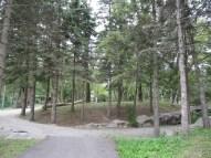 Un espace encore en voie d'aménagement sur la colline.