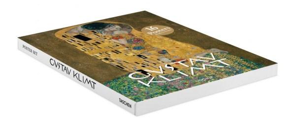 Gustav Klimt. Éditions Taschen, 2017, coffret d'affiches (16 tirages sous coffret), 25,4 x 33 cm.