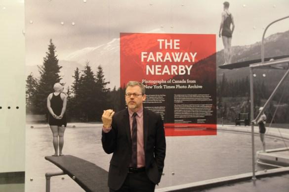 Paul Roth, directeur du Ryerson Image Centre depuis 2013.