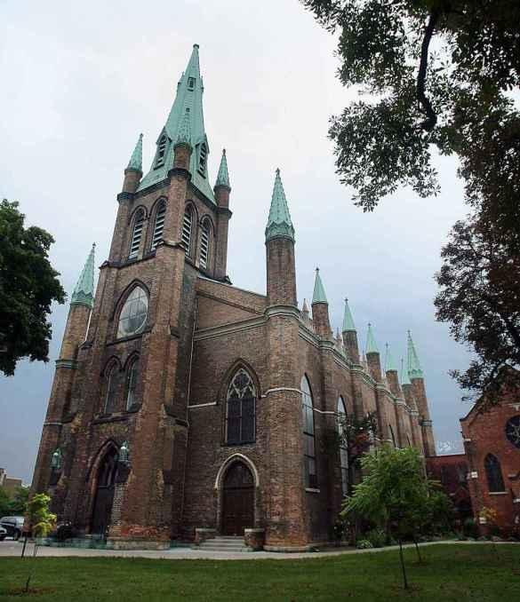 L'église de l'Assomption en 2017
