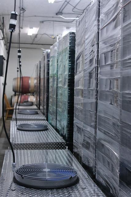 Un système appassimento chez Big Head Wines.