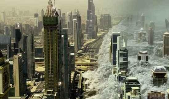 Une scène du film Geostorm.