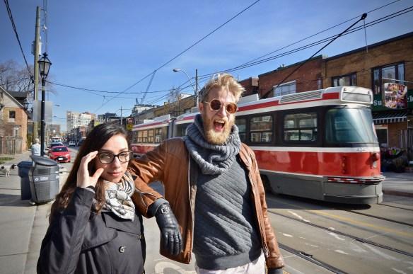 Marie-Claire Marcotte et Maxime Robin (Photo:Manuel Verreydt)